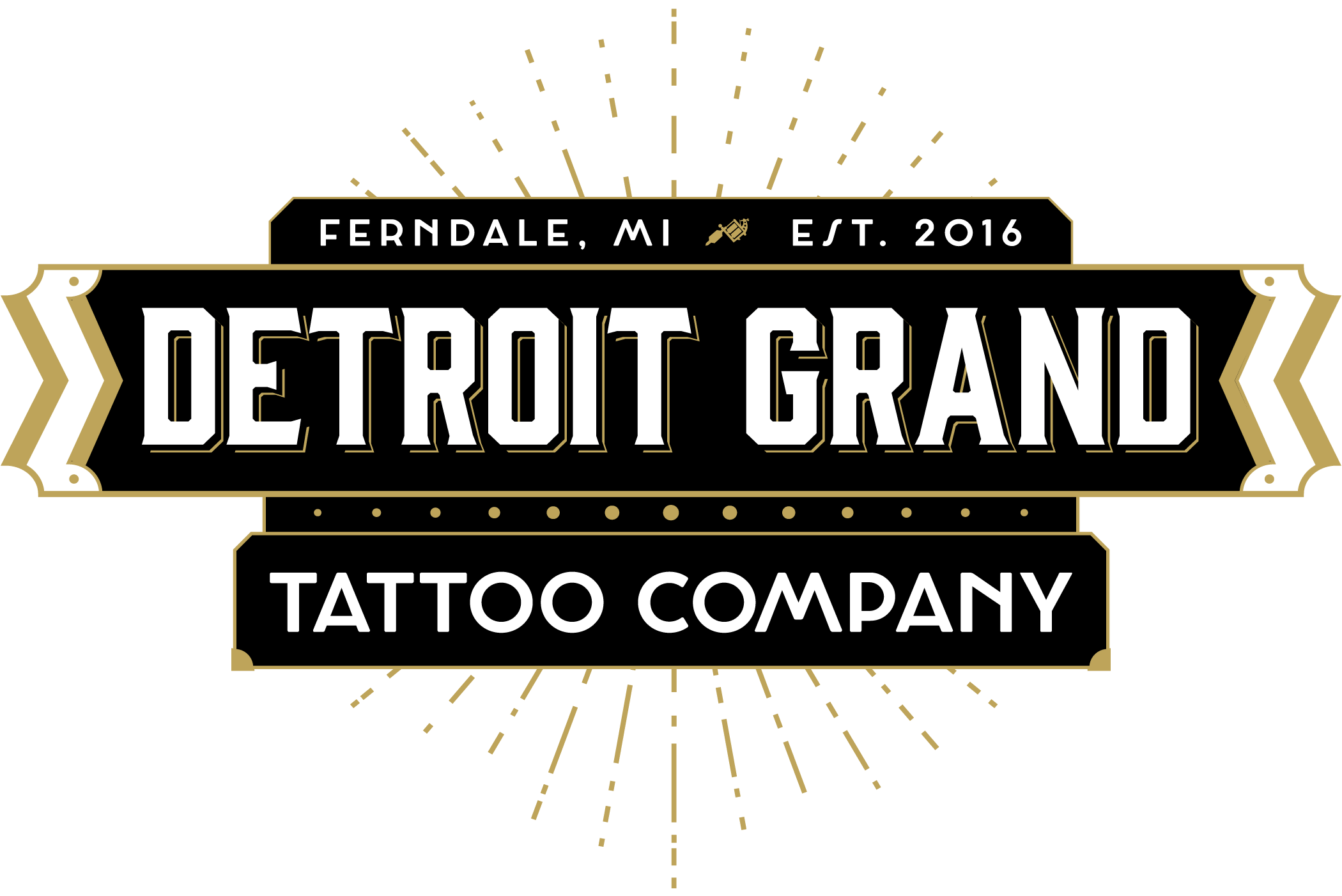 Detroit Grand Tattoo Company logo